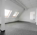 Renoviertes Dachgeschossbüro